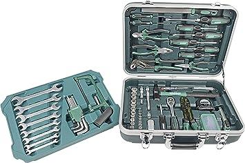 Brüder Mannesmann Werkzeuge 108 piezas) maletín de herramientas, 1 pieza, m29089: Amazon.es: Bricolaje y herramientas