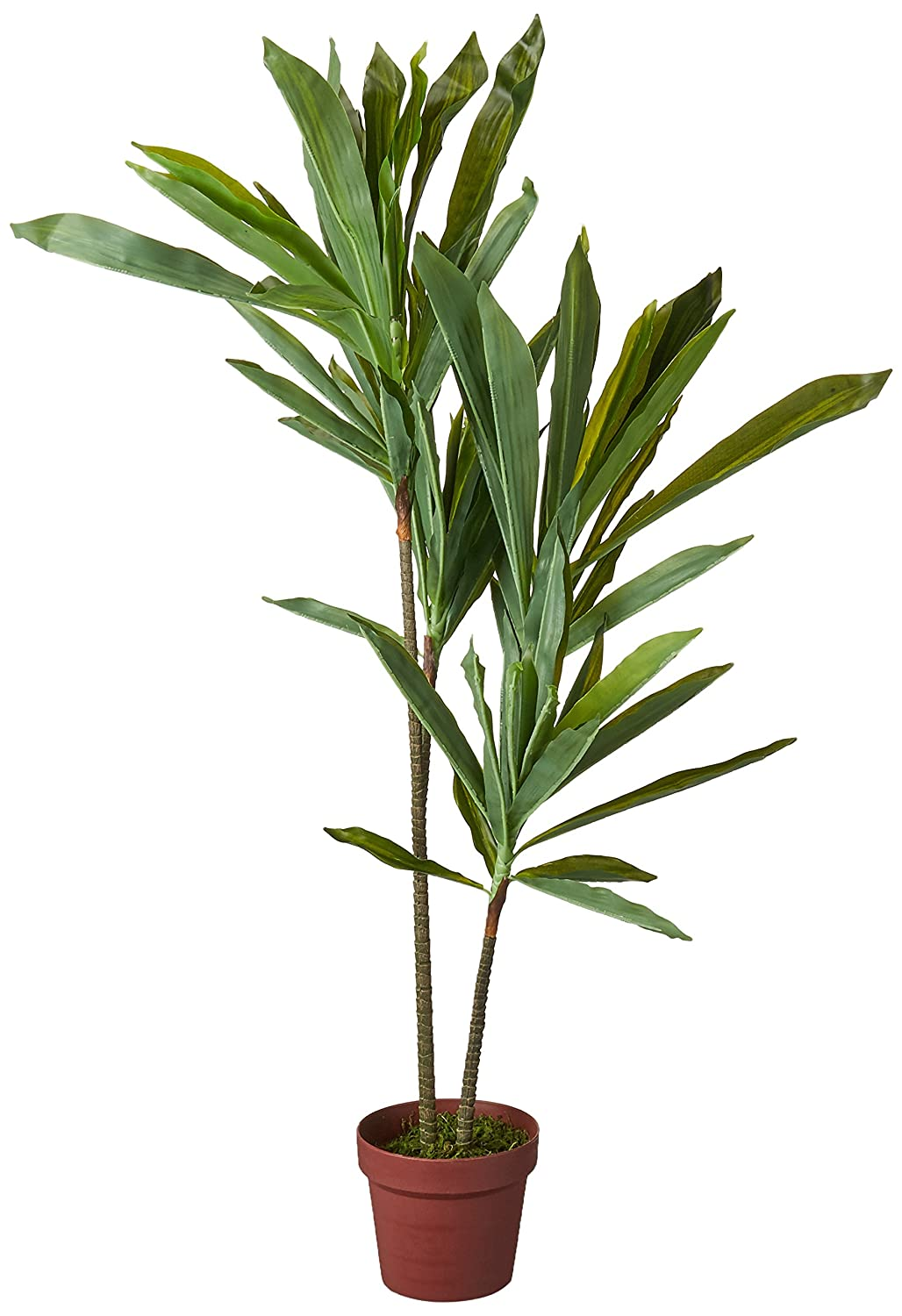 Nearly Natural 6585 Dracaena Decorative Silk Plant, 48-Inch, Green