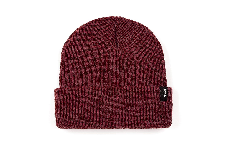 Amazon.com  Brixton Men s Heist Beanie Hat aa444ddc23a3