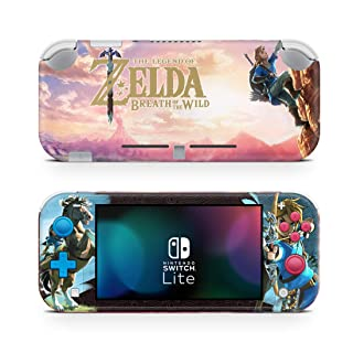 The Legend of Zelda: Breath of the Wild BotW Game Skin for Nintendo Switch Lite Console 100% Satisfaction Guarantee