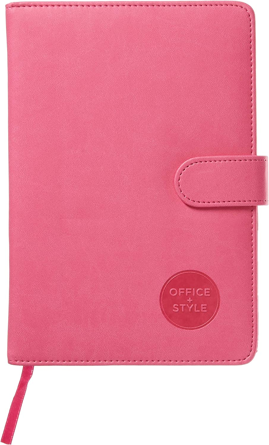Office Style 2018 Personal Organizer Diary Planner Notebook Calendar With Magnetic Latch, 5.75