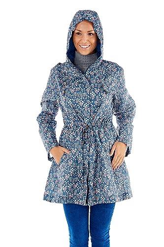 Hari Deals – Abrigo impermeable – Parka – para mujer