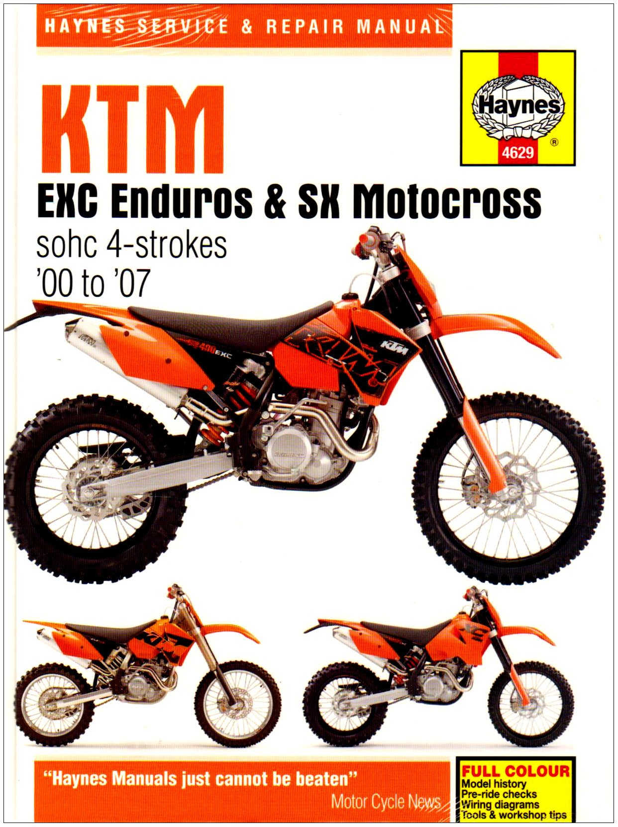 G 06 Ktm Exc Wiring Diagram Library Ltz 400 Starter Haynes Repair Manual 4629 Phil Mather 9781844256297 Amazoncom
