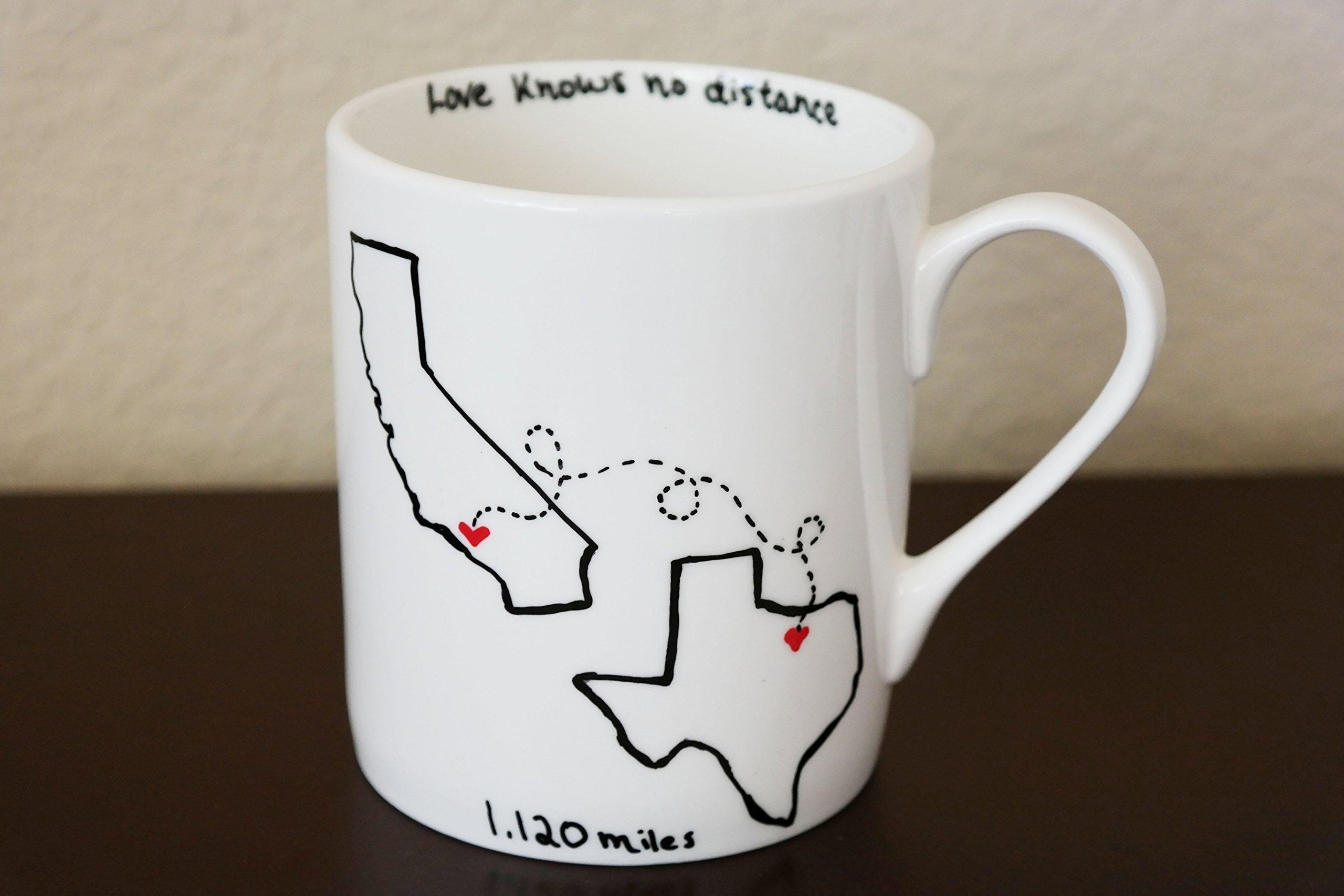 Amazon.com: Best Friends State Coffee Mug, Gift for Best Friend ...