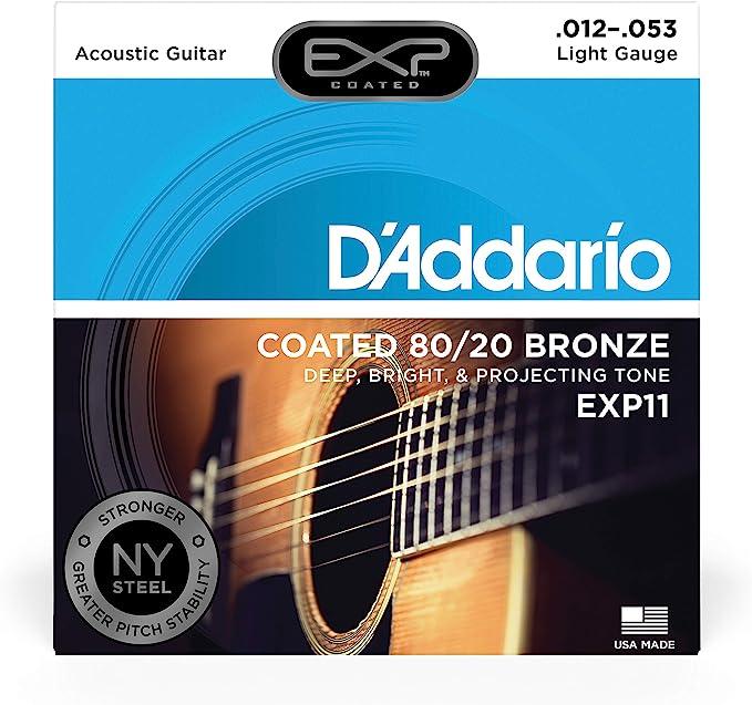 DAddario EXP16 - Juego de Cuerdas para Guitarra Acústica de ...
