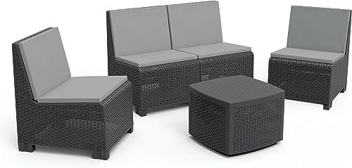 Tarrison Products AGVULCANT Vulcano Patio Furniture Set
