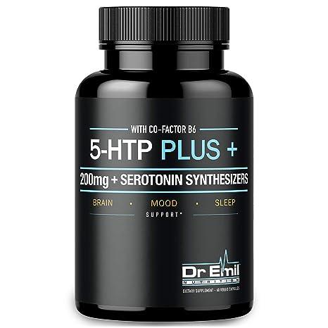 Amazon.com: 200 MG 5-HTP Plus Serotonin Synthesizers ...