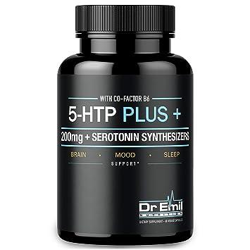 Amazon.com: 200 MG 5-HTP Plus Serotonin Synthesizers and Cofactor B6 ...