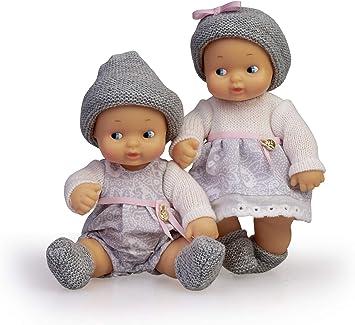 Barriguitas- Bebés Gemelos, muñeca Twins niño y niña (Famosa 700015789): Amazon.es: Juguetes y juegos