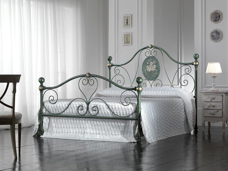 Bed Store LETTO MATRIMONIALE IN FERRO BATTUTO MODELLO Caterina ...