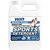 WIN Sports Laundry Detergent - Remove Sweaty Odor from Running Gym Microfiber Workout Clothes and Activewear Yoga Apparel - F
