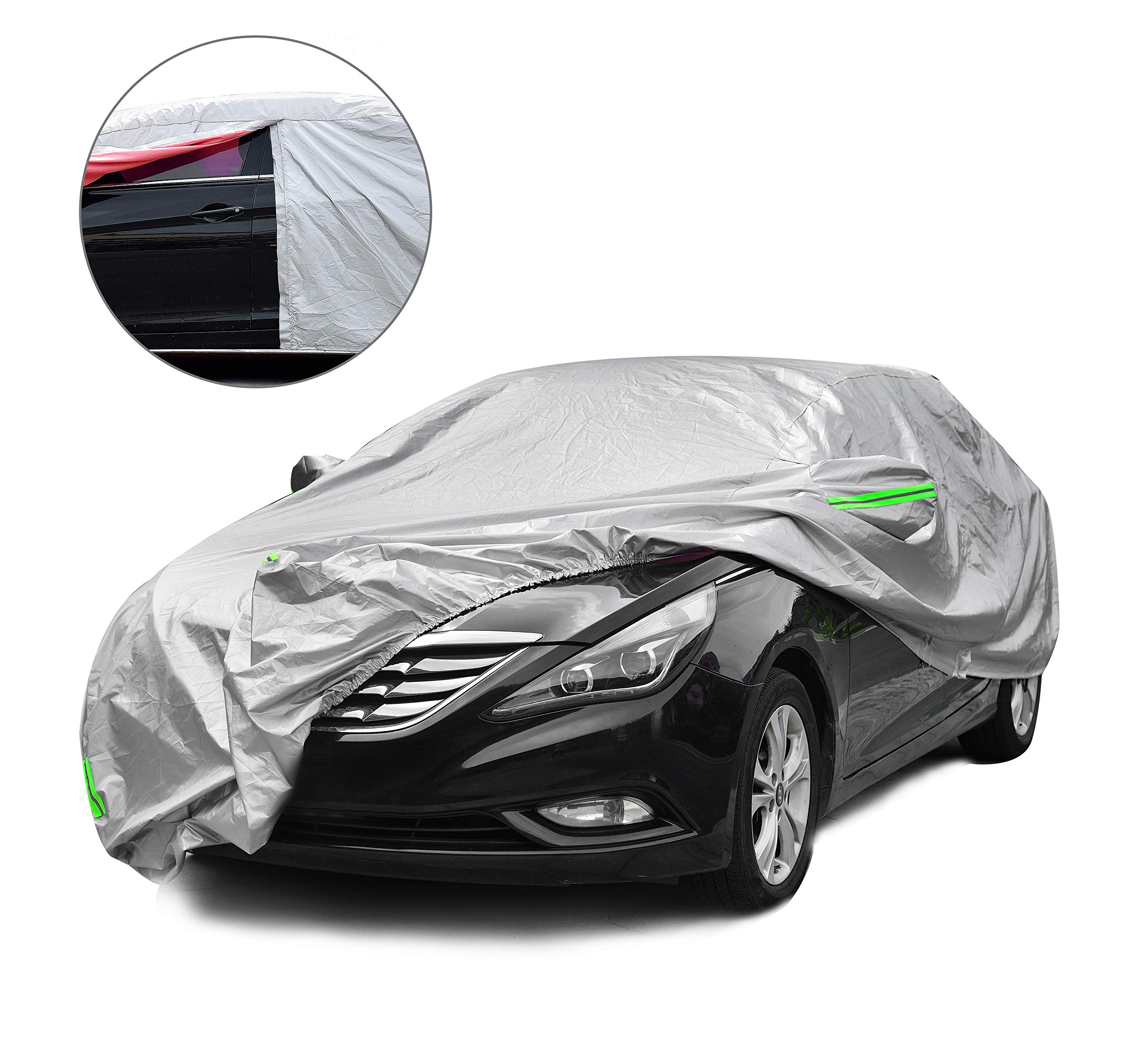 Black Satin Guaranteed Includes Storage Bag Indoor Car Cover Compatible with Chevrolet Corvette Stingray 1968-1982 Ultra Soft Indoor Material C3
