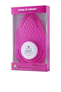 beautyblender keep.it.clean: Flexible Silicone Cleansing Pad for Makeup Sponges & Brushes