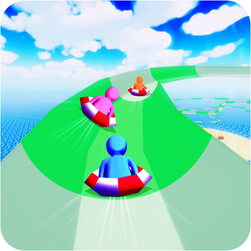 Aqua Park WaterSplash Racing - Water Slippy Slide Race from Thunder Studio