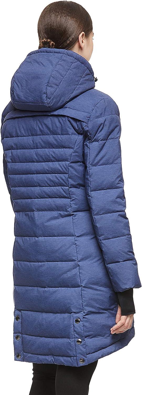 Orolay Womens Down Jacket Coat Winter Mid-Length