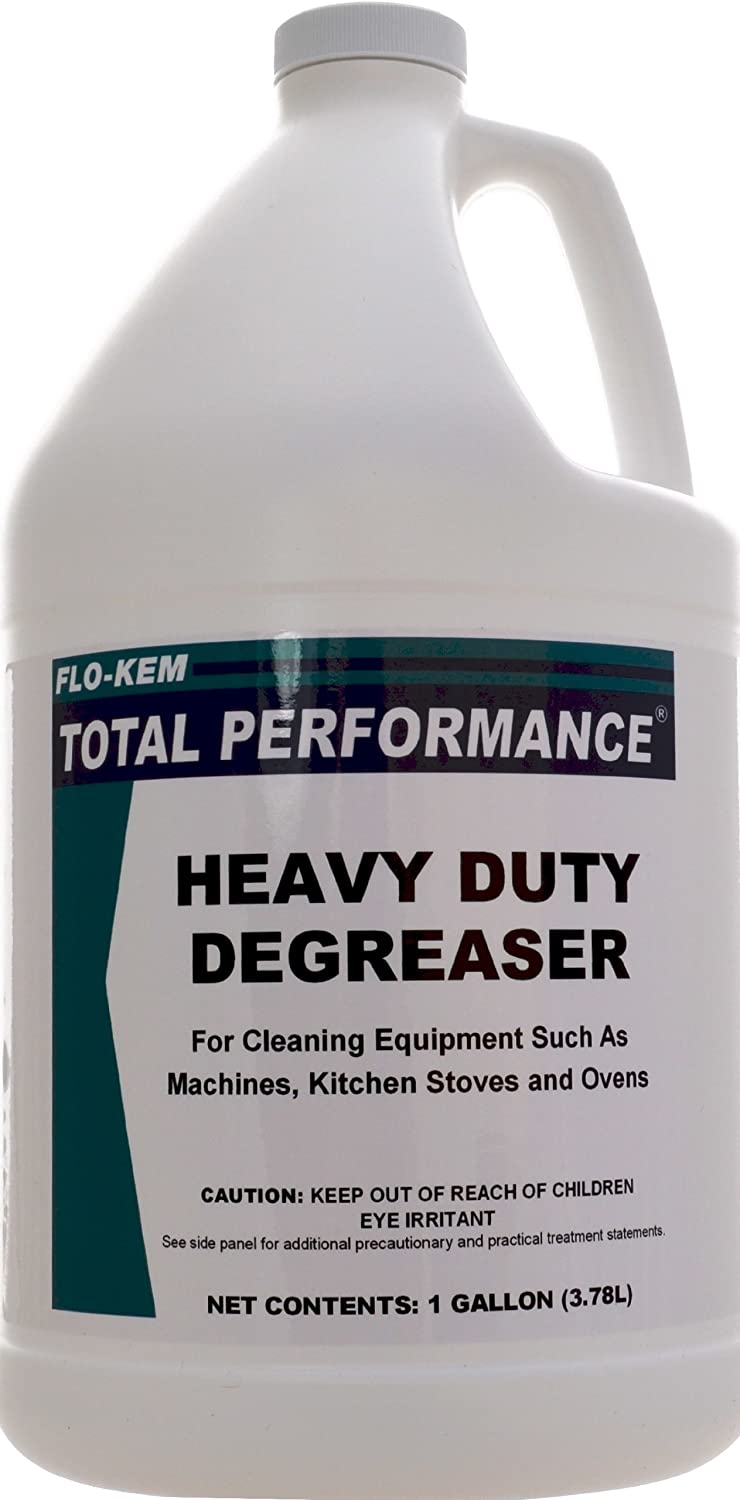 Top Flo-Kem 202 Heavy Duty Degreaser with Lemon Scent, 1 Gallon Bottle, Blue for sale
