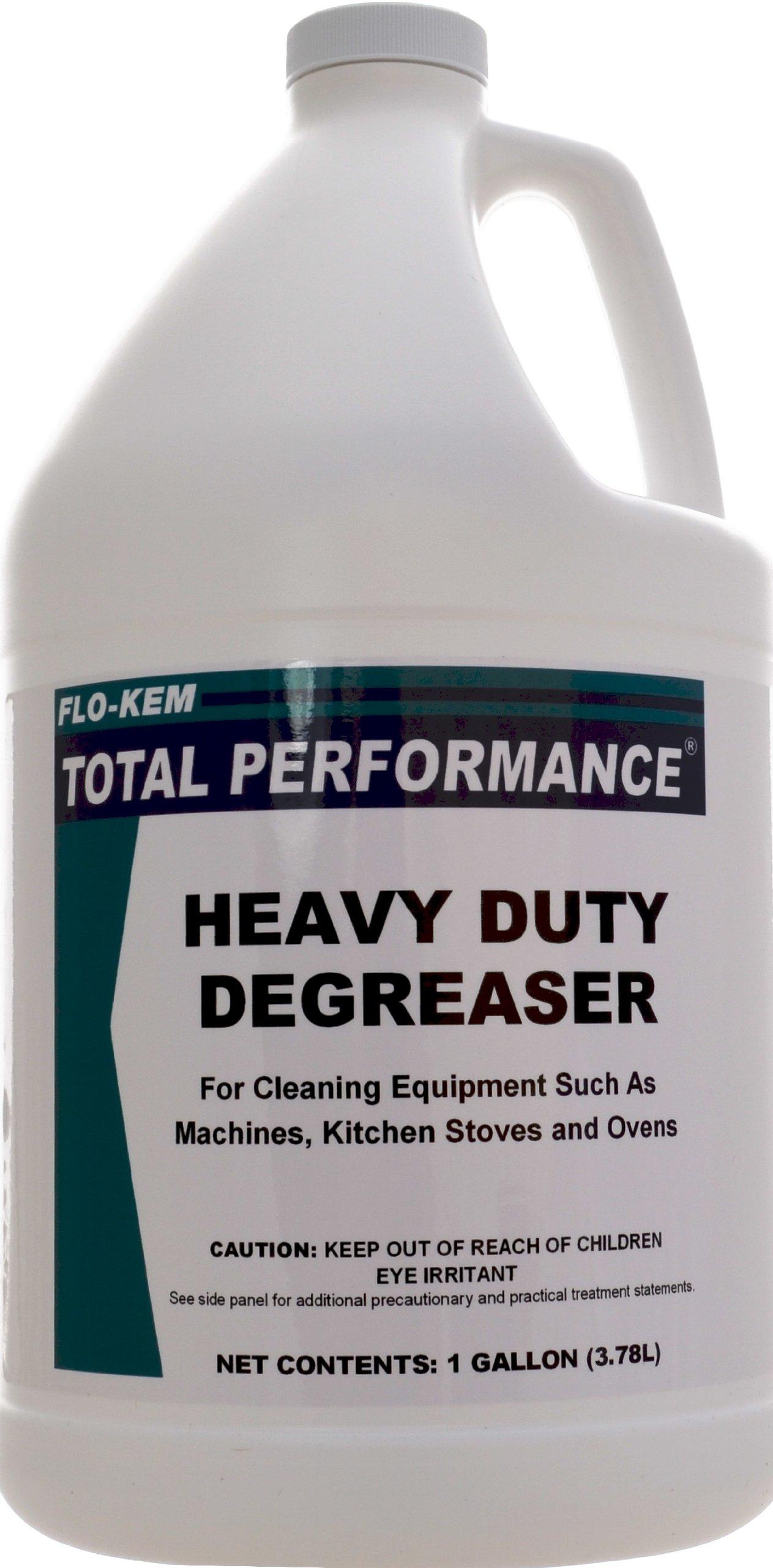 Flo-Kem 202 Heavy Duty Degreaser with Lemon Scent, 1 Gallon Bottle, Blue by Flo-Kem