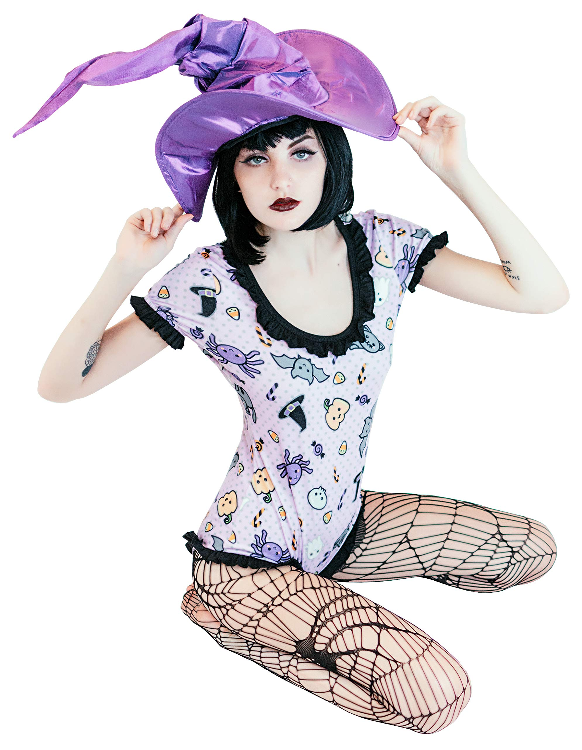 ENVY BODY SHOP Adult Baby & Diaper Lover(ABDL/DDLG/Little Space) Snap Crotch Spooky Halloween (XL)