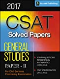 CSAT - Solved Papers for Civil Services Preliminary Examination (General Studies Paper II)