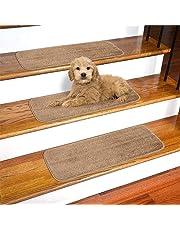 """Ottomanson Softy Stair Tread 9"""" X 26 Beige"""