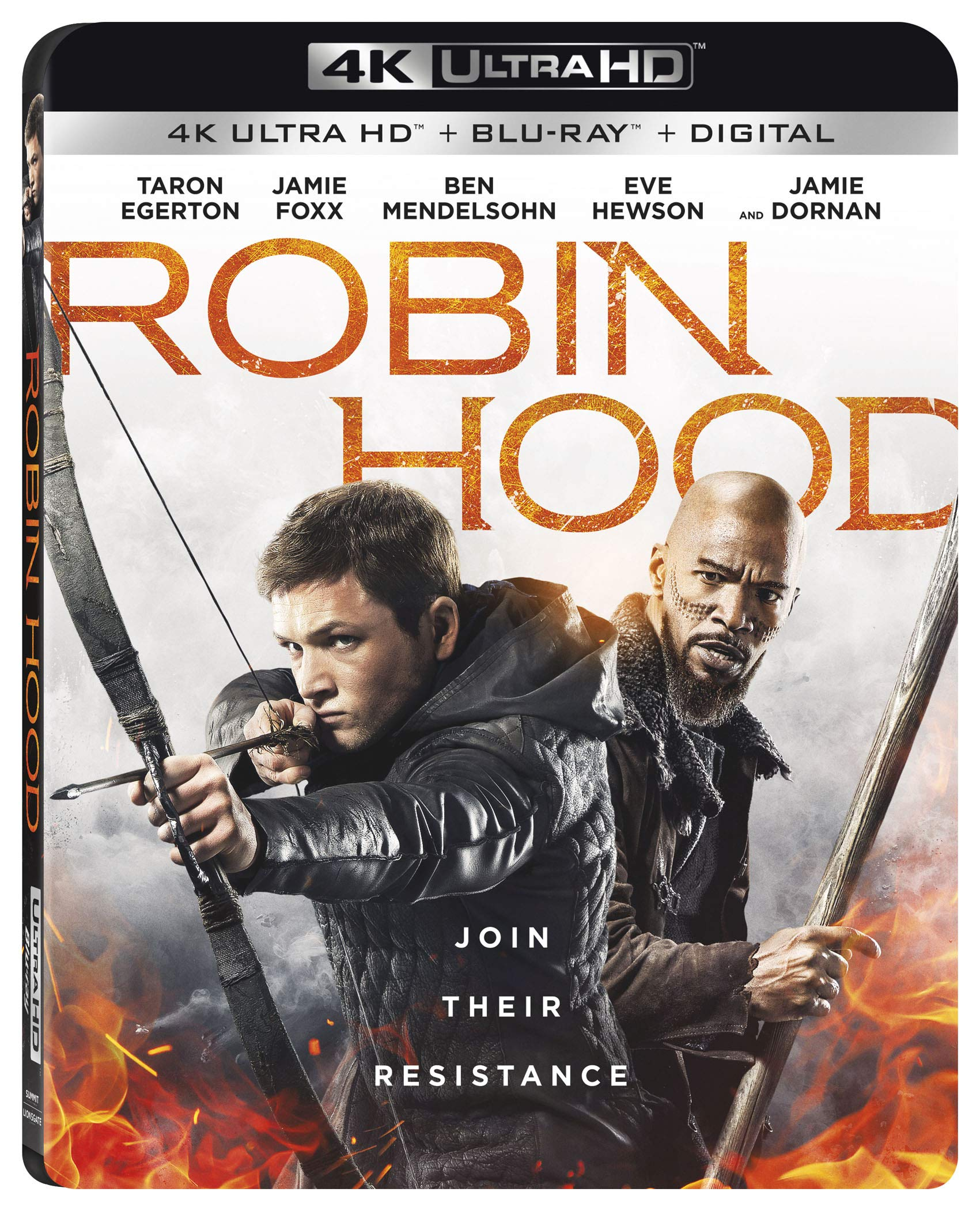 4K Blu-ray : Robin Hood (With Blu-ray, 4K Mastering, 2 Pack, Widescreen, Subtitled)