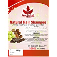 Havintha Natural Hair Shampoo with Amla, Reetha and Shikakai Powder, 227g