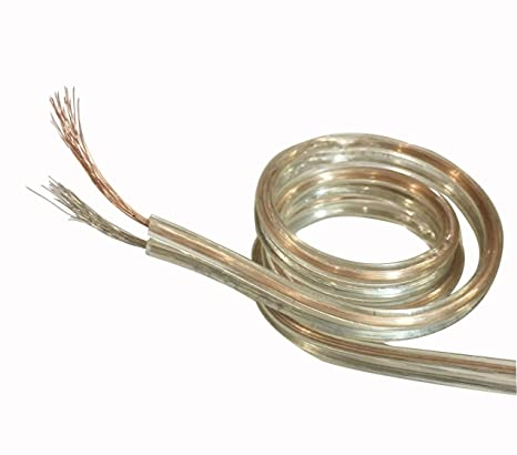 Oxcord 40/55 Gauge Oxygen Free (Bared & Tind Copper) Speaker Wire Cable (15mtr / 49 Feet) Copper