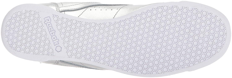 Reebok Women's F/S HI Metallic Sneaker B072M8JSM5 7 B(M) US|Silver Met/Steel/White