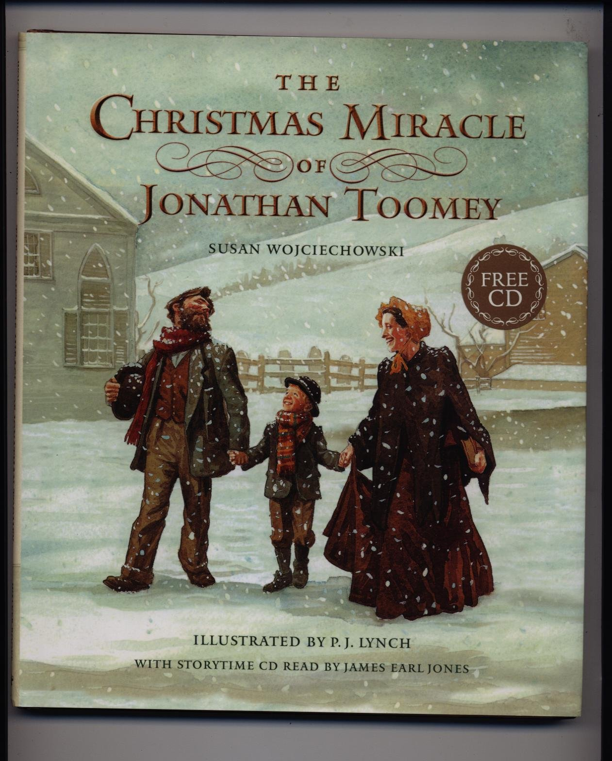The Christmas Miracle Of Jonathan Toomey.The Christmas Miracle Of Jonathan Toomey Book Cd Susan