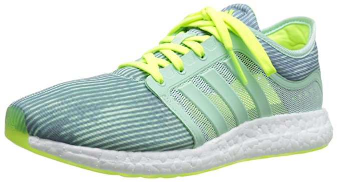 3ff29642c75 Amazon.com | adidas Performance Women's CC Rocket Boost W Running Shoe,  Green/Green/Yellow, 11.5 M US | Running