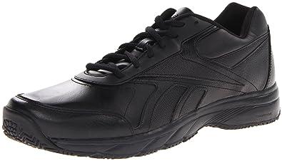 Reebok Mens Work N Cushion Walking ShoeBlack7 M US