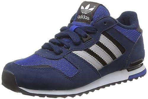Zapatillas adidas - Zx 700 K Azul Royal/Gris Solid/Blanco 37 1/3: Amazon.es: Zapatos y complementos