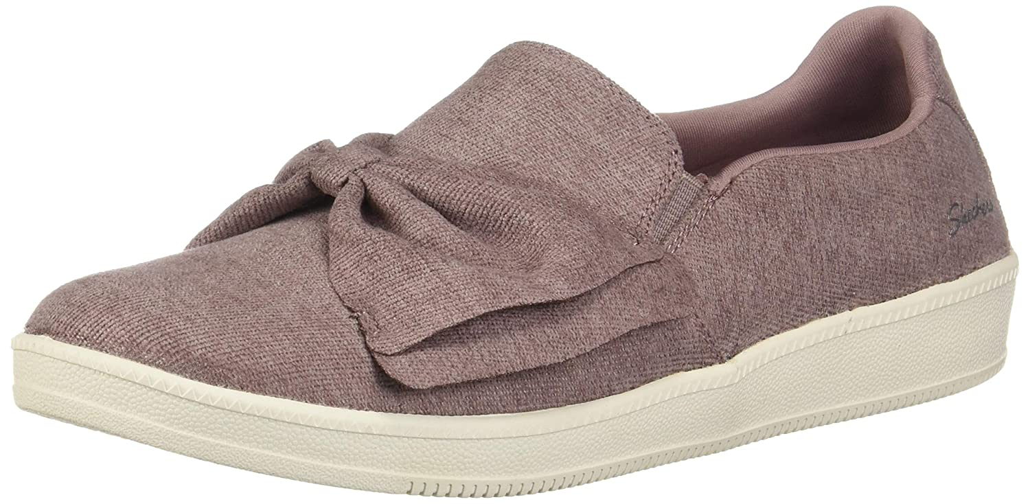 Mauve Skechers Womens Madison Ave - My Town Fashion Sneakers
