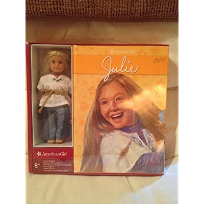 Julie Boxed Set with Board Game (American Girl Collection) 6 Paperback Books + 1 Mini Doll: Office Products