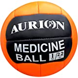 Aurion Medicine Ball Exercise Slam No Bounce (1 Kg-10 kg) Medicine Ball for Plyometric & Core Training, Cardio Workouts for Muscle Building, Balance - Ideal for Squats, Lunges, Partner Toss