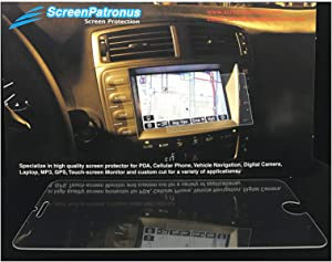 ScreenPatronus - Compatible with Kenwood DDX-9705s in Dash Crystal Clear Screen Protector (Lifetime Replacement Warranty)