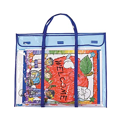 Fun Express Pocket Charts,Bulletin Board Storage Bag - 1 Piece - Educational and Learning Activities for Kids: Toys & Games