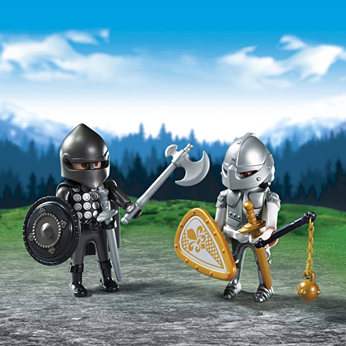 Playmobil 6847 Caballero rivalidad Duo Pack Coleccionable
