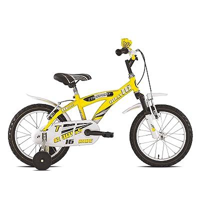 "'Torpado vélo Junior Billy 16""1V jaune (enfant)/Bicycle Junior Billy 161V Yellow (Kid)"