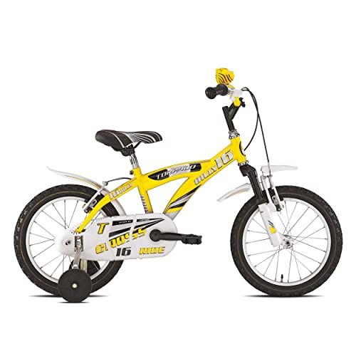 "Torpado vélo Junior Billy 16""1V jaune (enfant)/Bicycle Junior Billy 161V Yellow (Kid)"