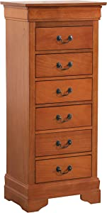 Glory Furniture Lingerie Chest, Oak