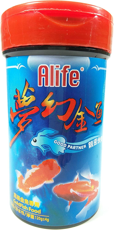 Hai Feng Alife Good Partner Food Floating for Goldfish, 120g, Small