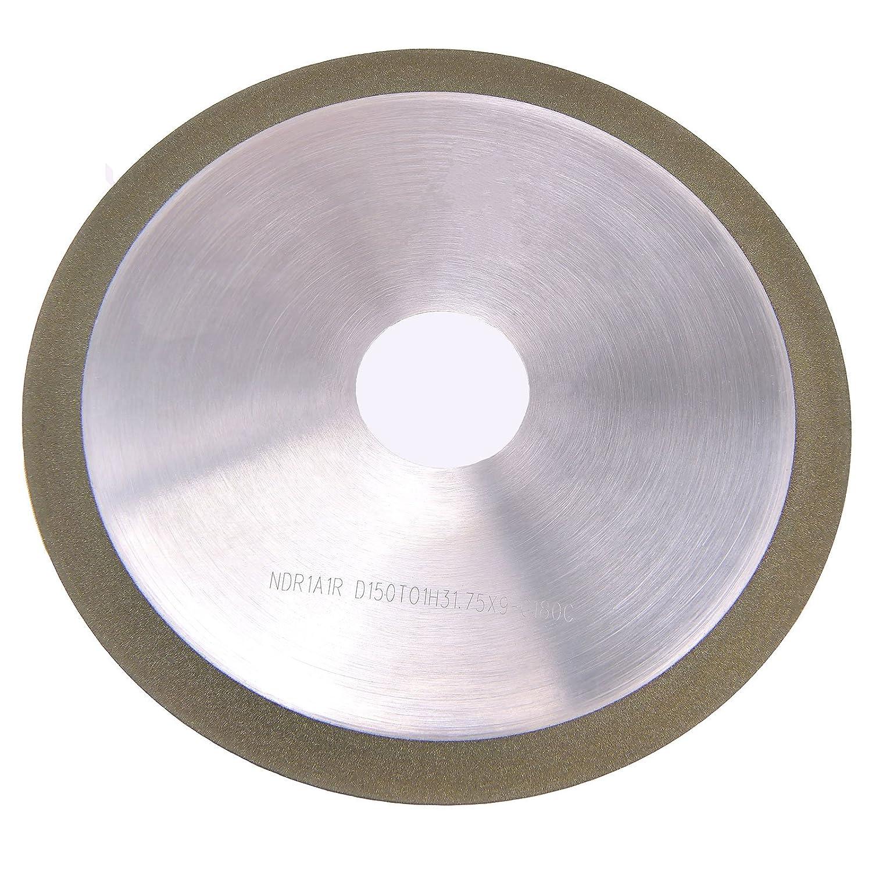 MaxTool OD 6 Thick 1 mm Diamond Cut-Off Wheel Bore 1.25 Grit Width 0.35 Grit 180 Resin Bond; NDR1A1RD6T01X9G18