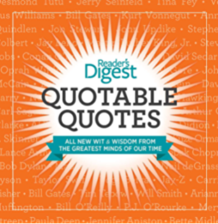 Amazon quotable quotes ebook editors of readers digest quotable quotesenhanced edition wit and wisdom from the greatest minds of our fandeluxe Images
