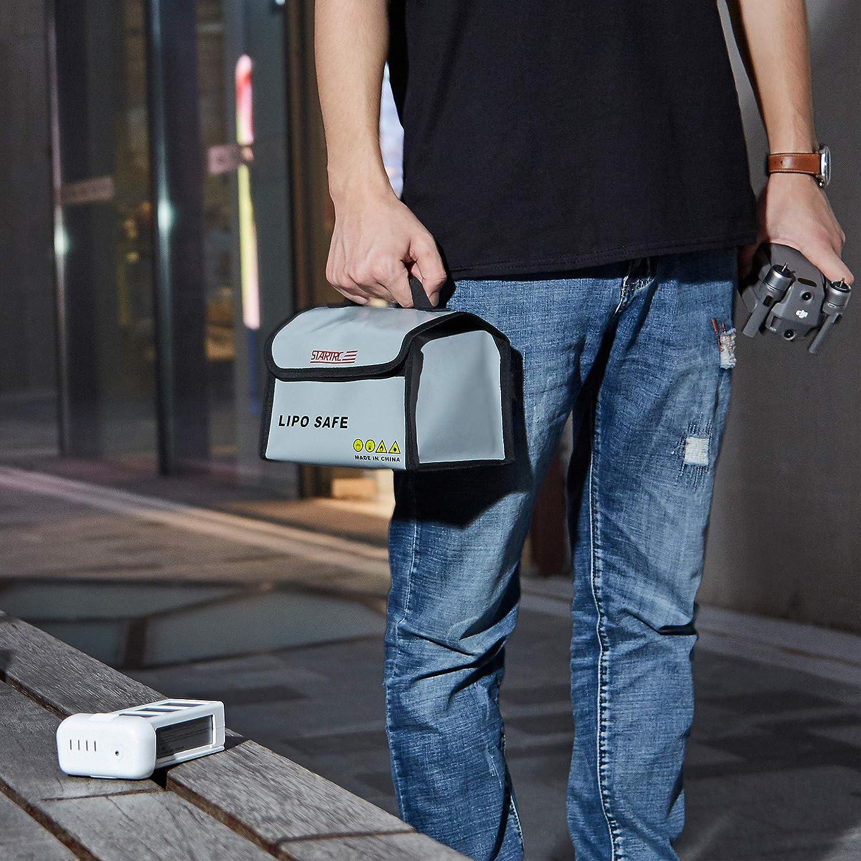 Fireproof Explosionproof attery Storage Guard Charging Bag for DJI Mavic 2 Pro Zoom//Mavic Pro Platinum//Mavic Air//Spark//Mavic Mini Accessories TOMAT Lipo Safe Bag