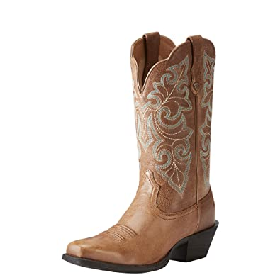 745ccbc2ece Ariat Women's Round Up Square Toe Western Cowboy Boot