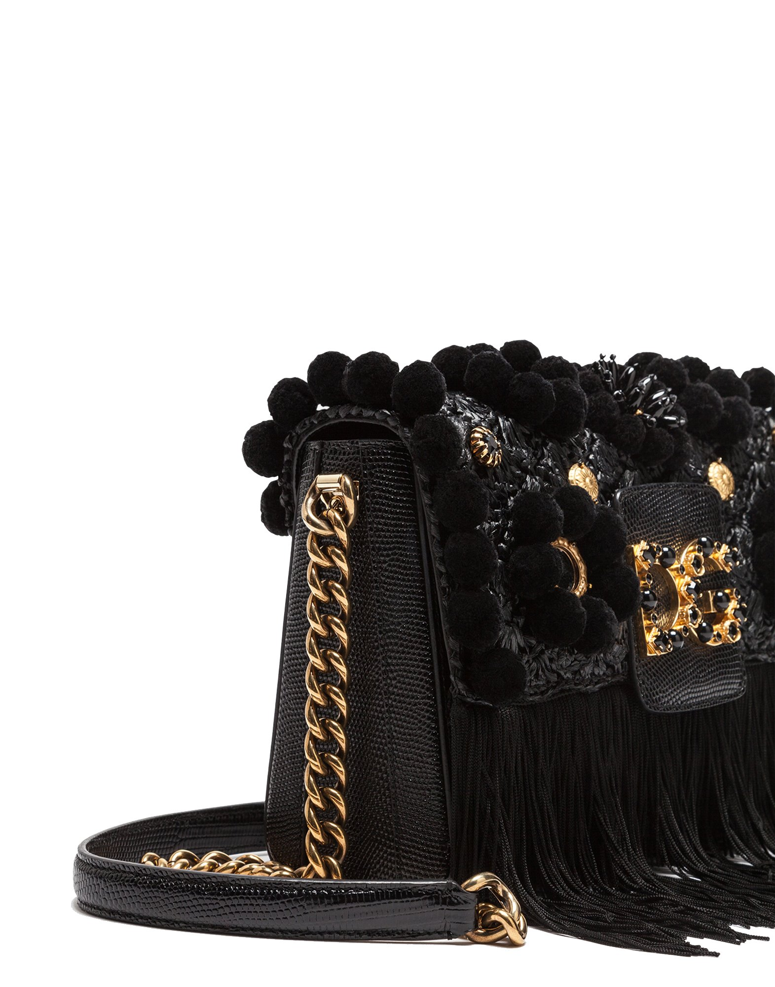 Dolce E Gabbana Women's Bb6393as9038b956 Black Leather Shoulder Bag by Dolce e Gabbana (Image #2)