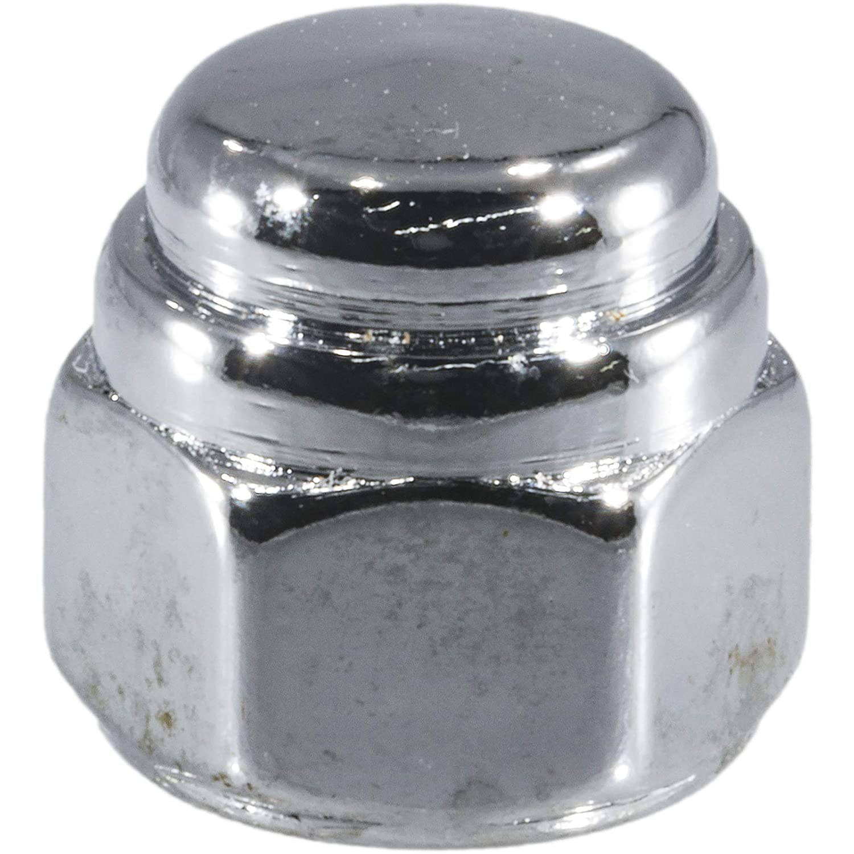 Hard-to-Find Fastener 014973478025 Flat Acorn Nut Chrome Piece-15 Midwest Fastener Corp 5//16-18
