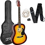 3rd Avenue Acoustic Guitar Beginner Starter Pack - Sunburst