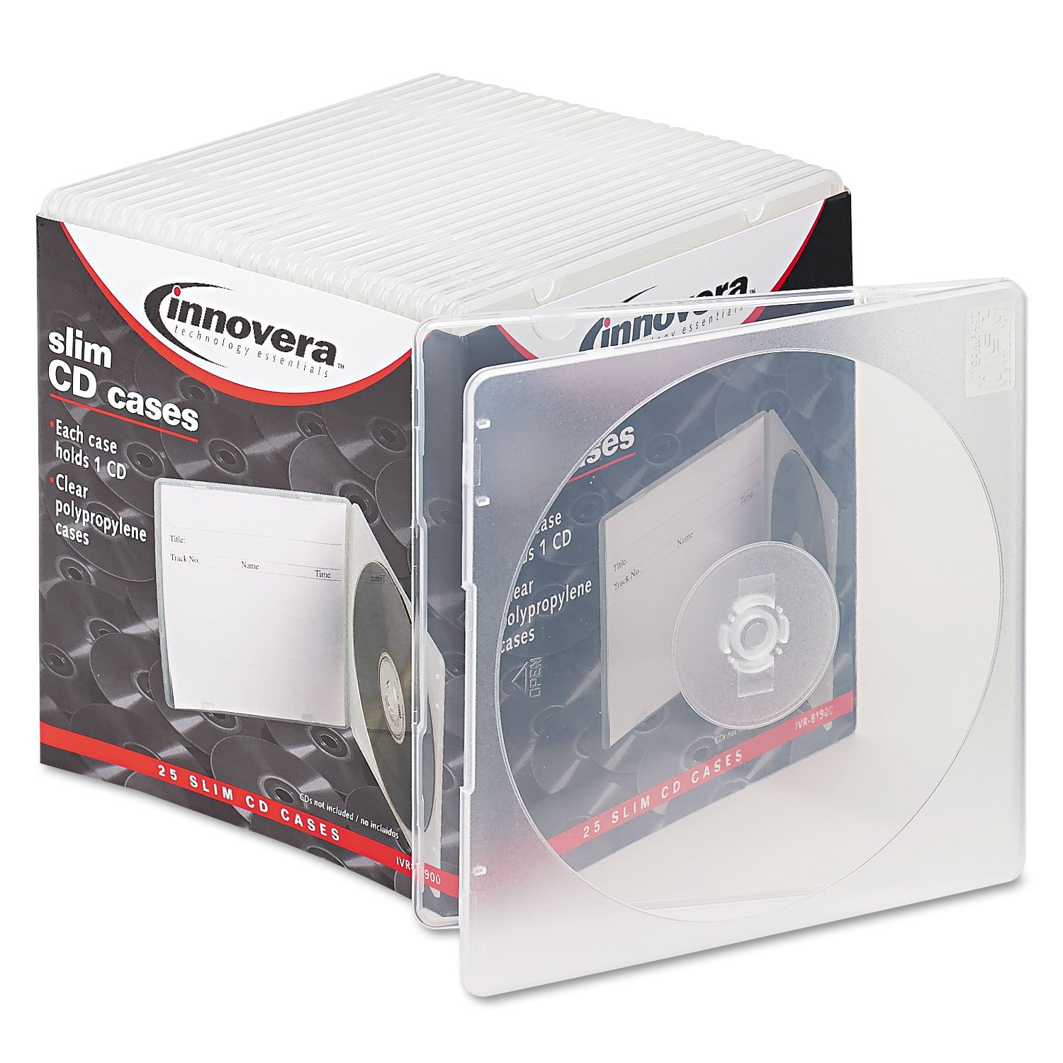 IVR81900 - Innovera Slim CD Case
